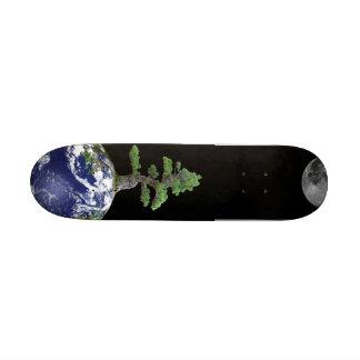 Bonsai On Earth Skatebord 18.1 Cm Old School Skateboard Deck