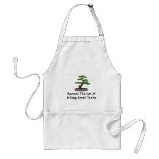 Bonsai: The Art of Killing Small Trees Apron
