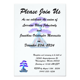 bonsai tree blue root over rock graphic.png 13 cm x 18 cm invitation card