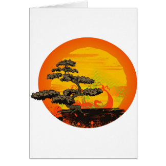 Bonsai Tree Card