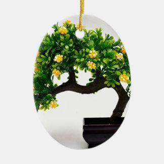 Bonsai tree christmas ornament