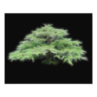 Bonsai Tree Green Plant Custom Flyer