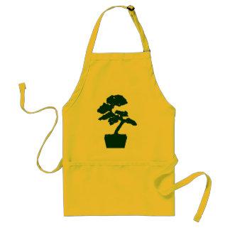 bonsai tree (green) standard apron