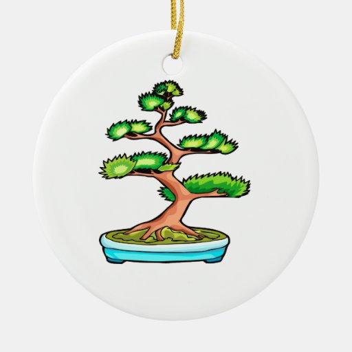 bonsai upright tree graphic green.png christmas tree ornament
