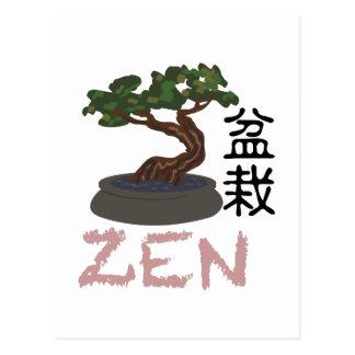 Bonsai Zen Postcard