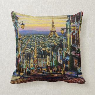 Bonsoir Paris Cushion