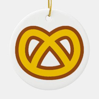 Bonus Pretzel Christmas Ornament