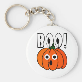 BOO! A Spooked Pumpkin Keychains