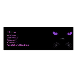 Boo - Amethyst Profile Card Pack Of Skinny Business Cards