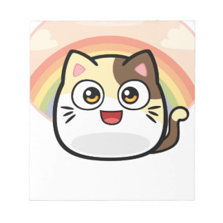 Boo as Cat Design Products Notepad