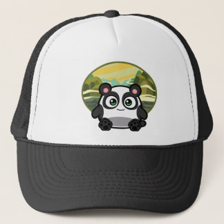 Boo as Panda Apparel Trucker Hat