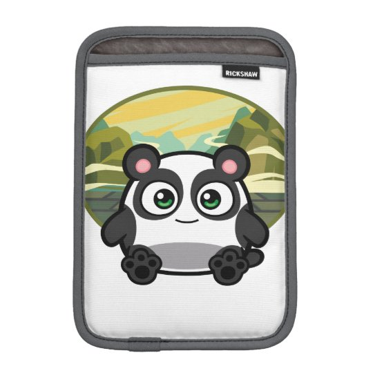 Boo as Panda iPad Mini Case iPad Mini Sleeves