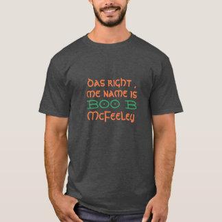 boo b McFeeelin lucky green st patrick's day T-Shirt