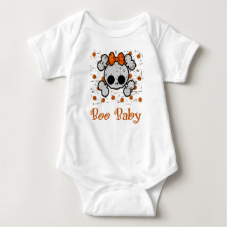 Boo Baby, Skull and Bones for Babies Baby Bodysuit