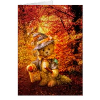 Boo Bear Greeting Card