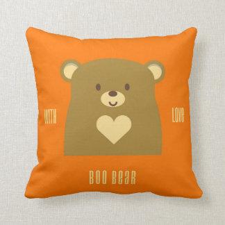 Boo Bear With Love Cushion