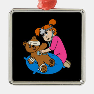 Boo-Boo Bear Kid Doctor Christmas Ornament