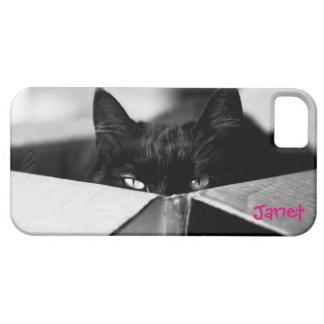 Boo Boo Black Kitty iPhone 5 Covers