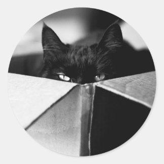 Boo Boo Black Kitty Sticker