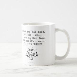 boo boo face mug