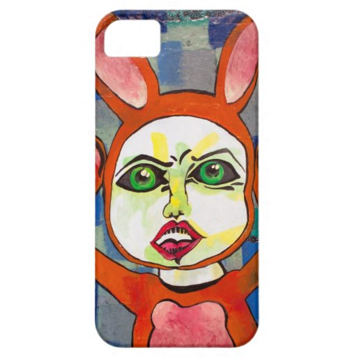 Boo Bunny Friend iPhone 5 Cover