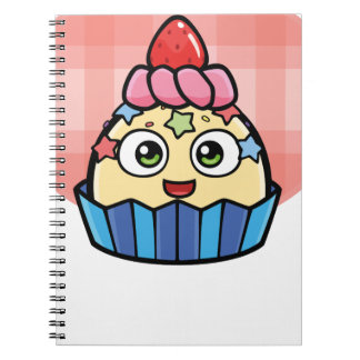 Boo Cupcake Products Notebook