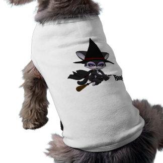 Boo! Dog Halloween Shirt Sleeveless Dog Shirt