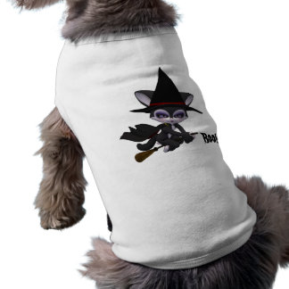 Boo! Dog Halloween Shirt Sleeveless Dog Shirt