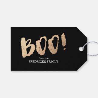 Boo! Gift Tags
