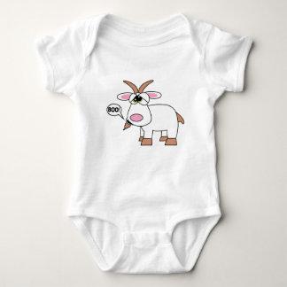 Boo! Goat Baby Bodysuit