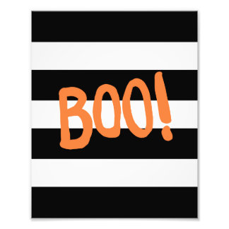 Boo! | Halloween Art Print