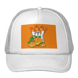 Boo Halloween Mesh Hats
