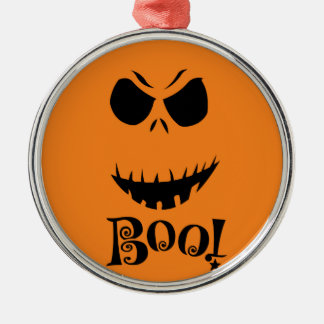 Boo Halloween gift range Silver-Colored Round Decoration