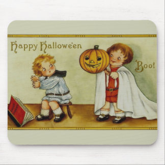 Boo! Halloween Vintage Mouse Pads