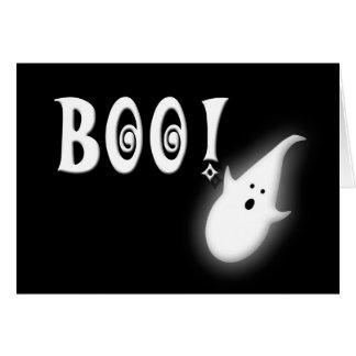 Boo! Happy Halloween Kids Card