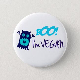 Boo! I'm Vegan 6 Cm Round Badge