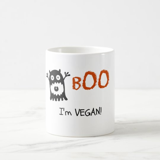 Boo I'm Vegan! Coffee Mug