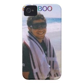 Boo on the beach iPhone 4 case
