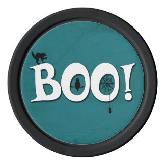 Boo! Poker Chips