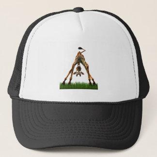 Boo! Says Olympia Giraffe. Trucker Hat