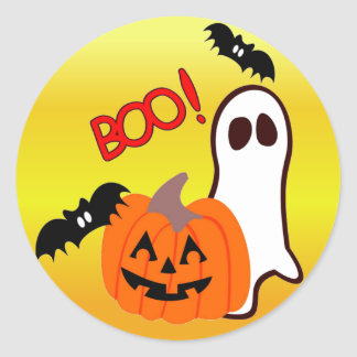 Boo Sticker