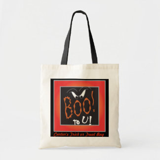 Boo to You Trick or Treat Bag