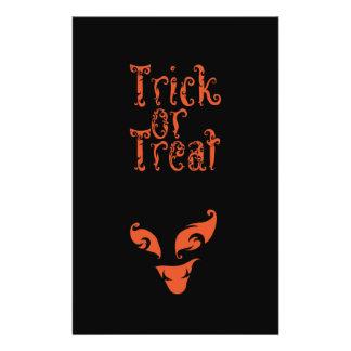Boo Trick or Treat design 14 Cm X 21.5 Cm Flyer