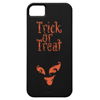 Boo Trick or Treat design Barely There iPhone 5 Case