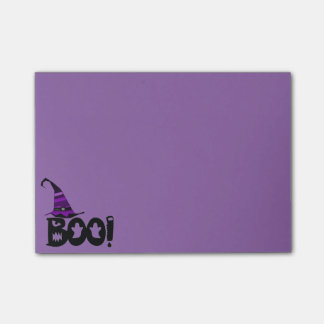 Boo! w/Hat Post-it Notes