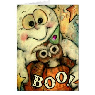 Boo Whoo! Greeting Card