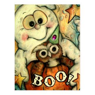 Boo Whoo! Postcard