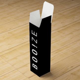 BOO!ZE | FUNNY HALLOWEEN WINE BOX