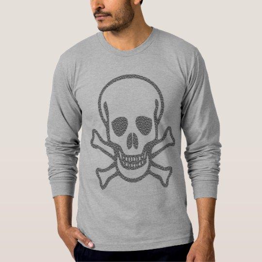 Boobins X-Bones Snake Manly Long Sleeve T-Shirt