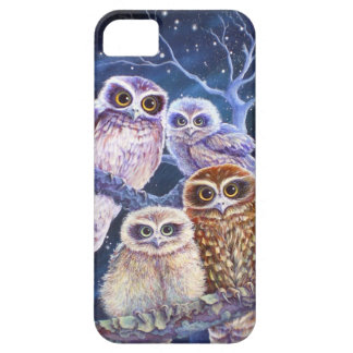 Boobook owl family iPhone 5 covers
